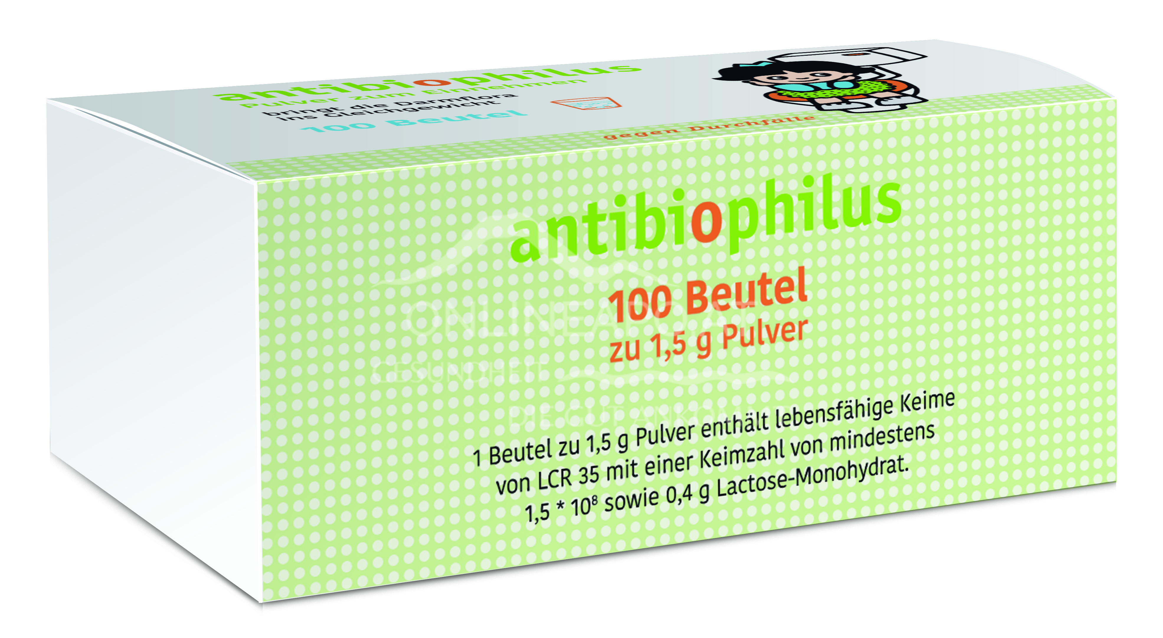 Antibiophilus Beutel