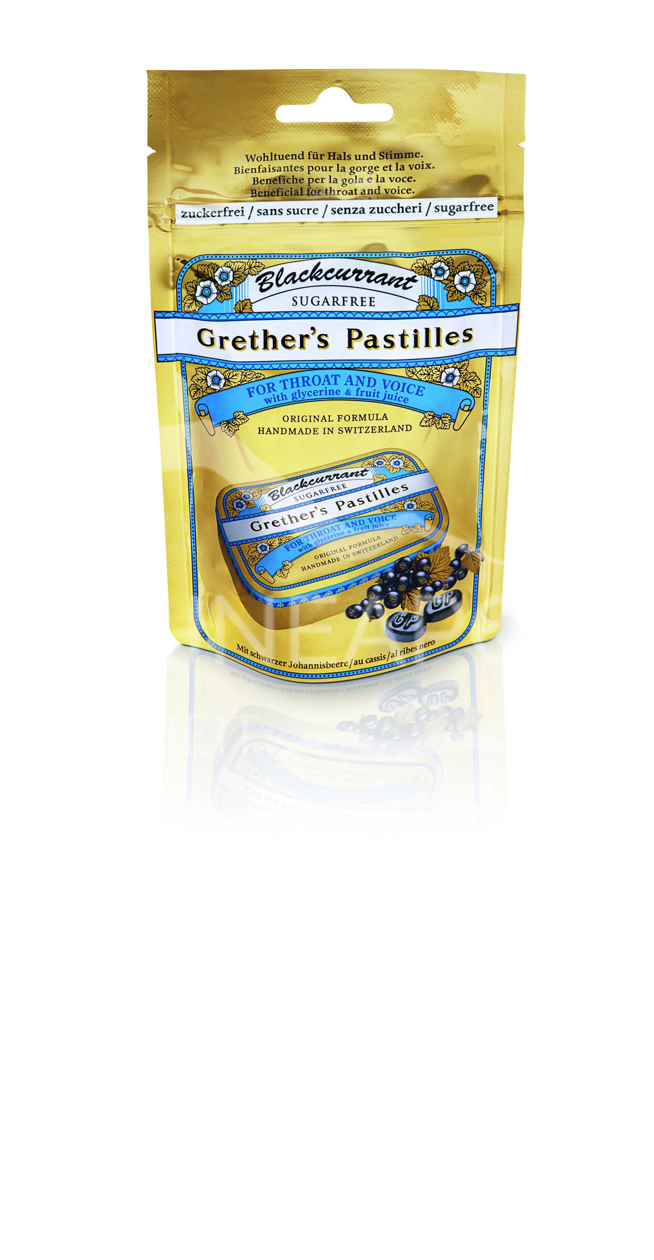 Grether's Pastilles Blackcurrant zuckerfrei