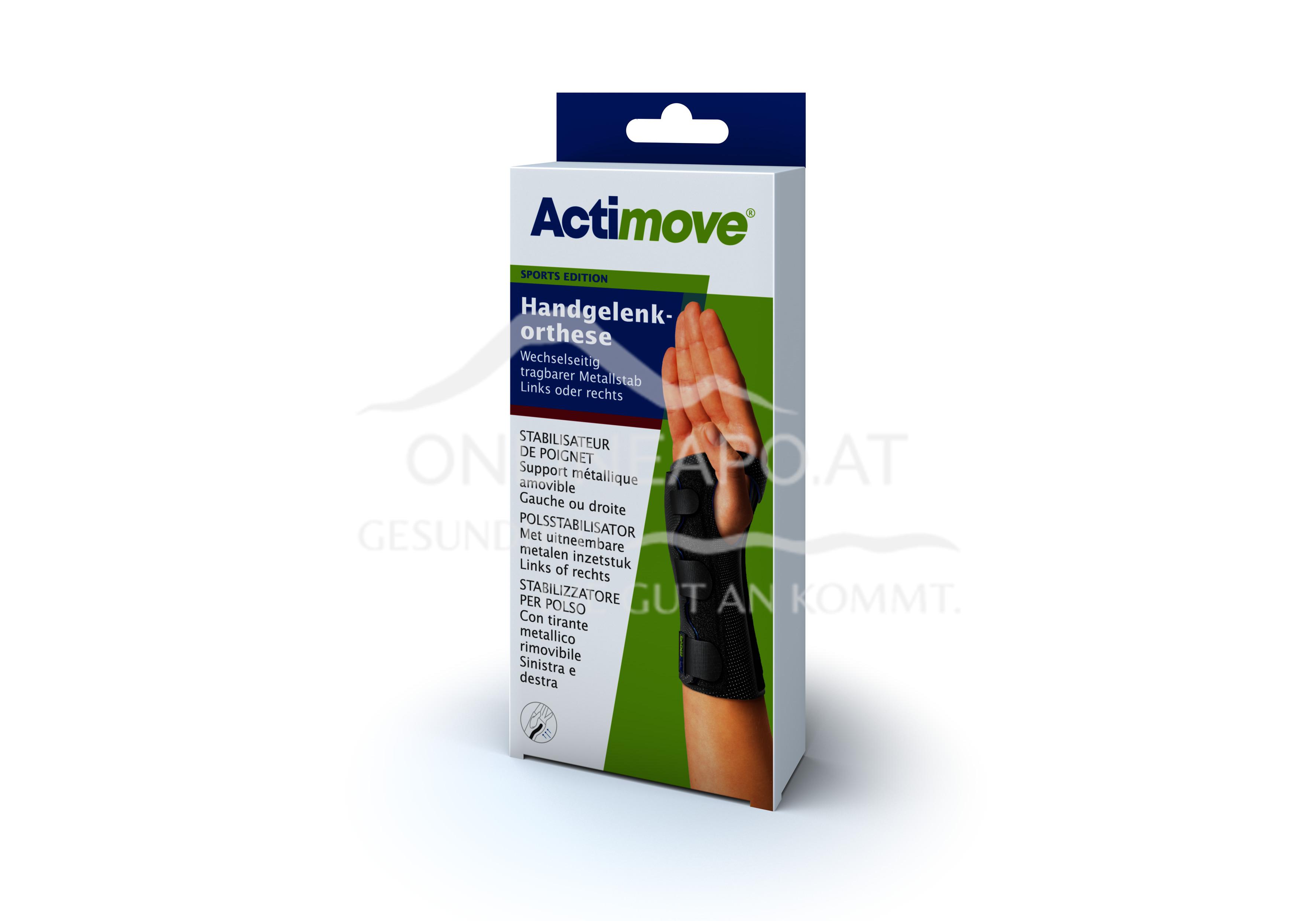 Actimove® Sport Edition Handgelenkorthese Wechselseitig Größe S