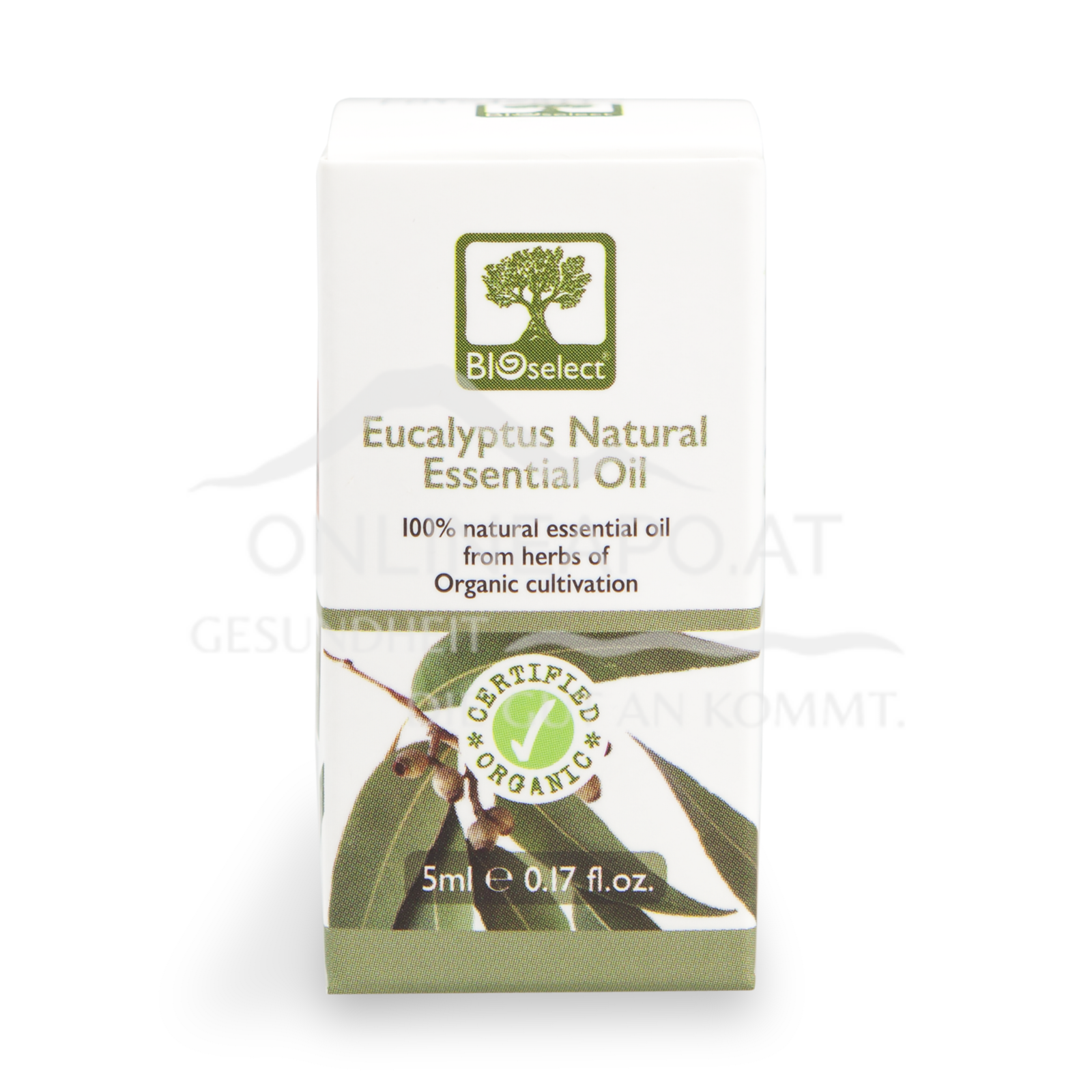 Bioselect Eucalyptus Natural Essential Oil Certified Organic