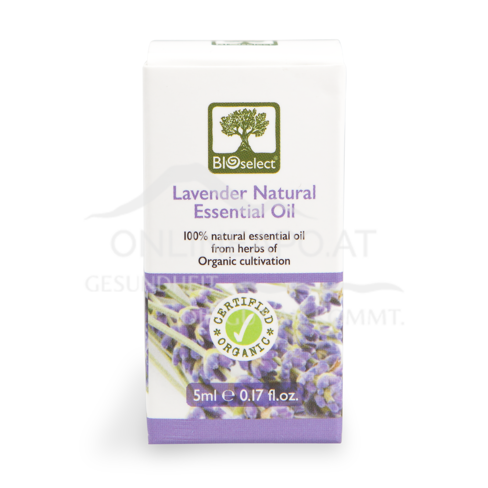 Bioselect Lavender Natural Essential Oil Certified Organic