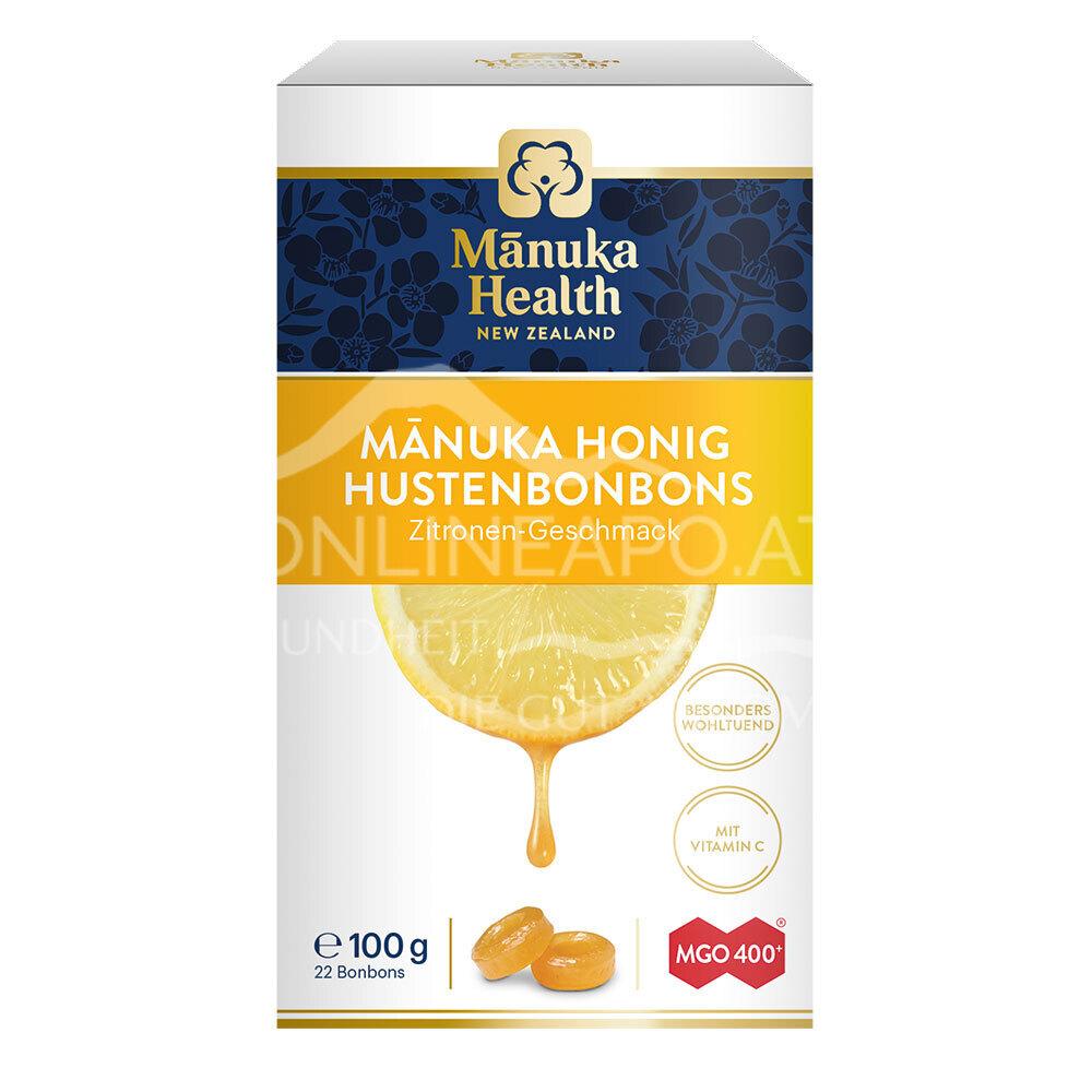 Mānuka Health Hustenbonbons Zitrone MGO 400+