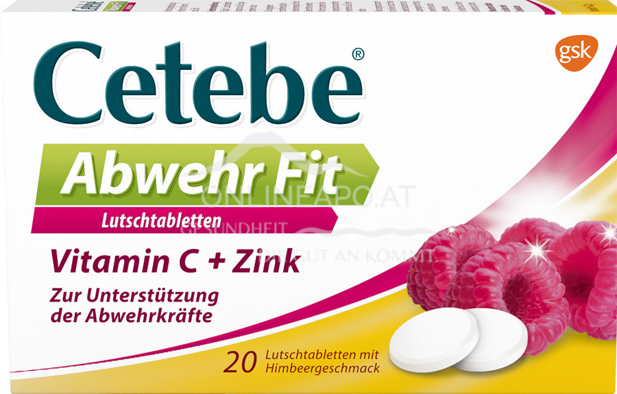 Cetebe® Abwehr Fit Lutschtabletten