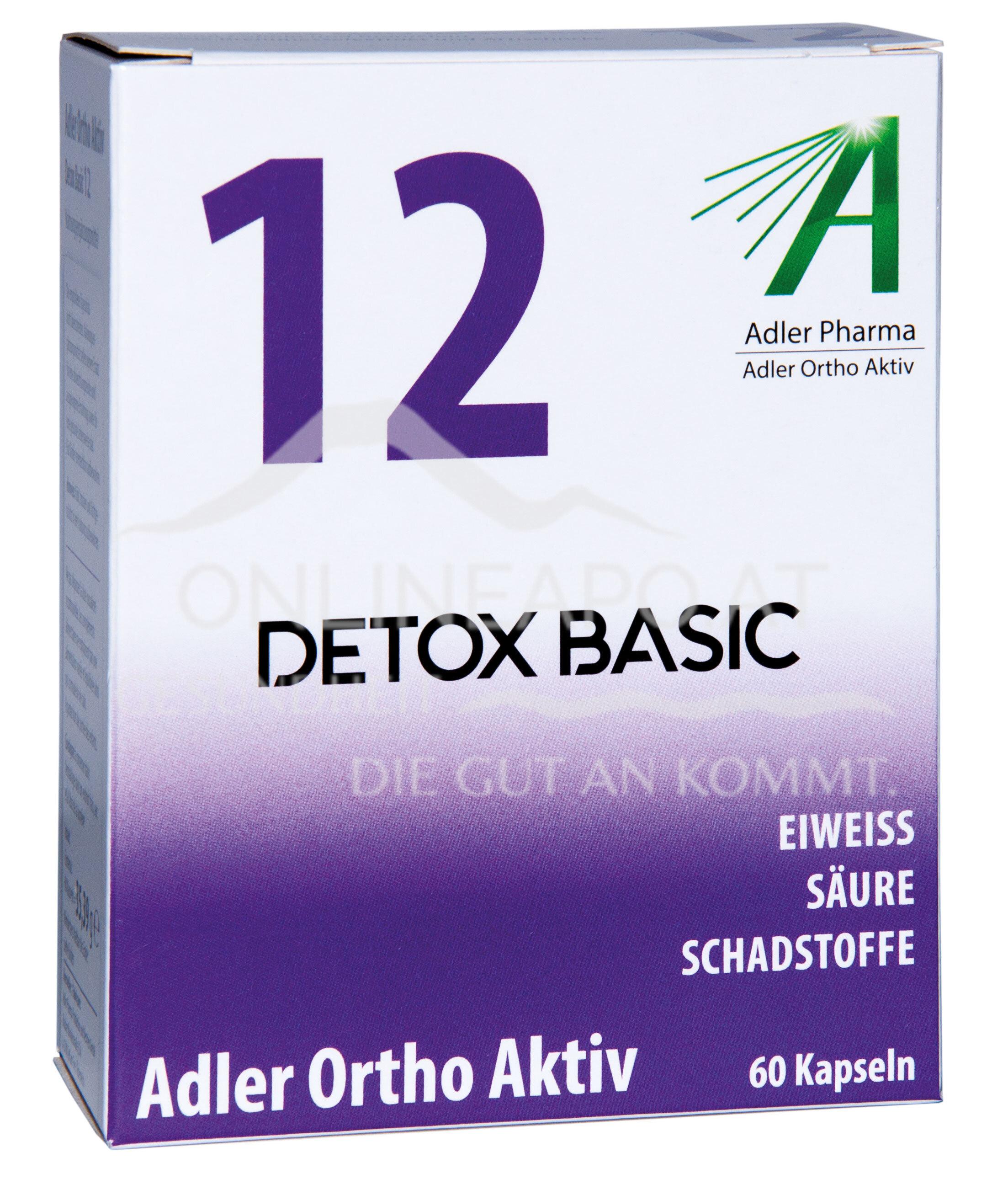 Adler Ortho Aktiv Nr. 12 Detox Basic