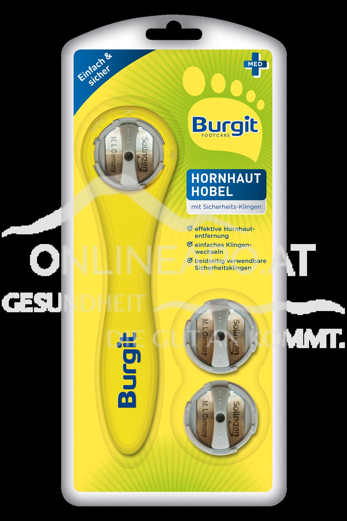 Burgit Hornhaut Hobel