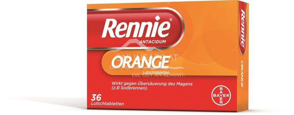 Rennie® Antacidum Orange-Lutschtabletten