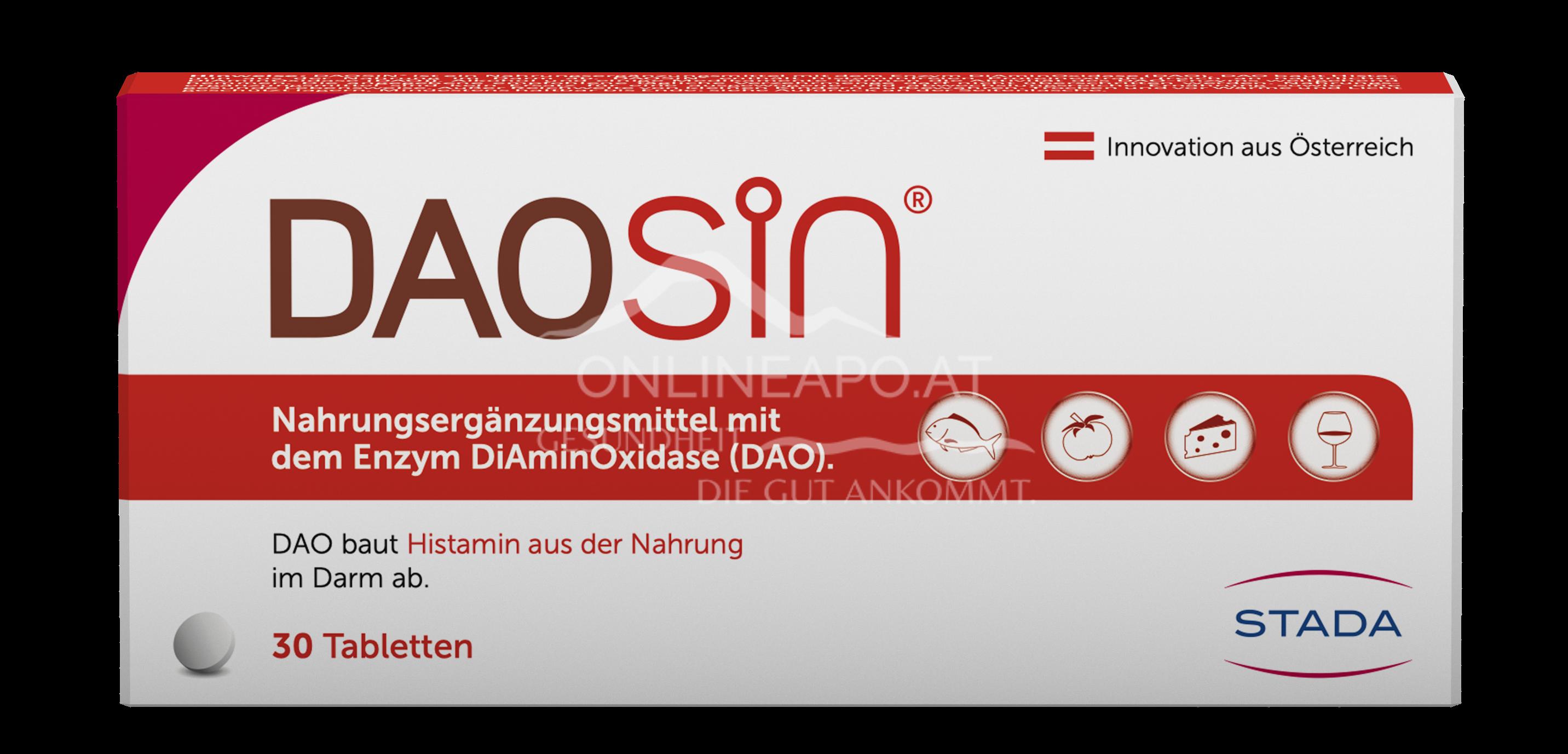 DAOsin Tabletten