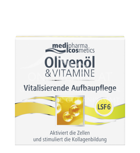 Olivenöl & Vitamine Vitalisierende Aufbaupflege mit LSF 6