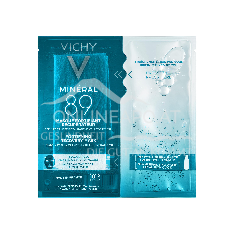 VICHY Minéral 89 Hyaluron-Boost Tuchmaske