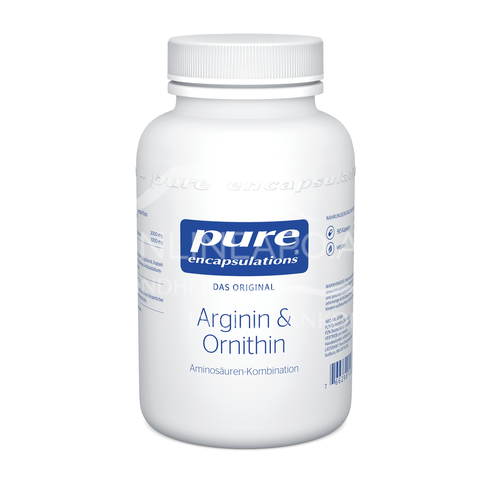 pure encapsulations® Arginin & Ornithin