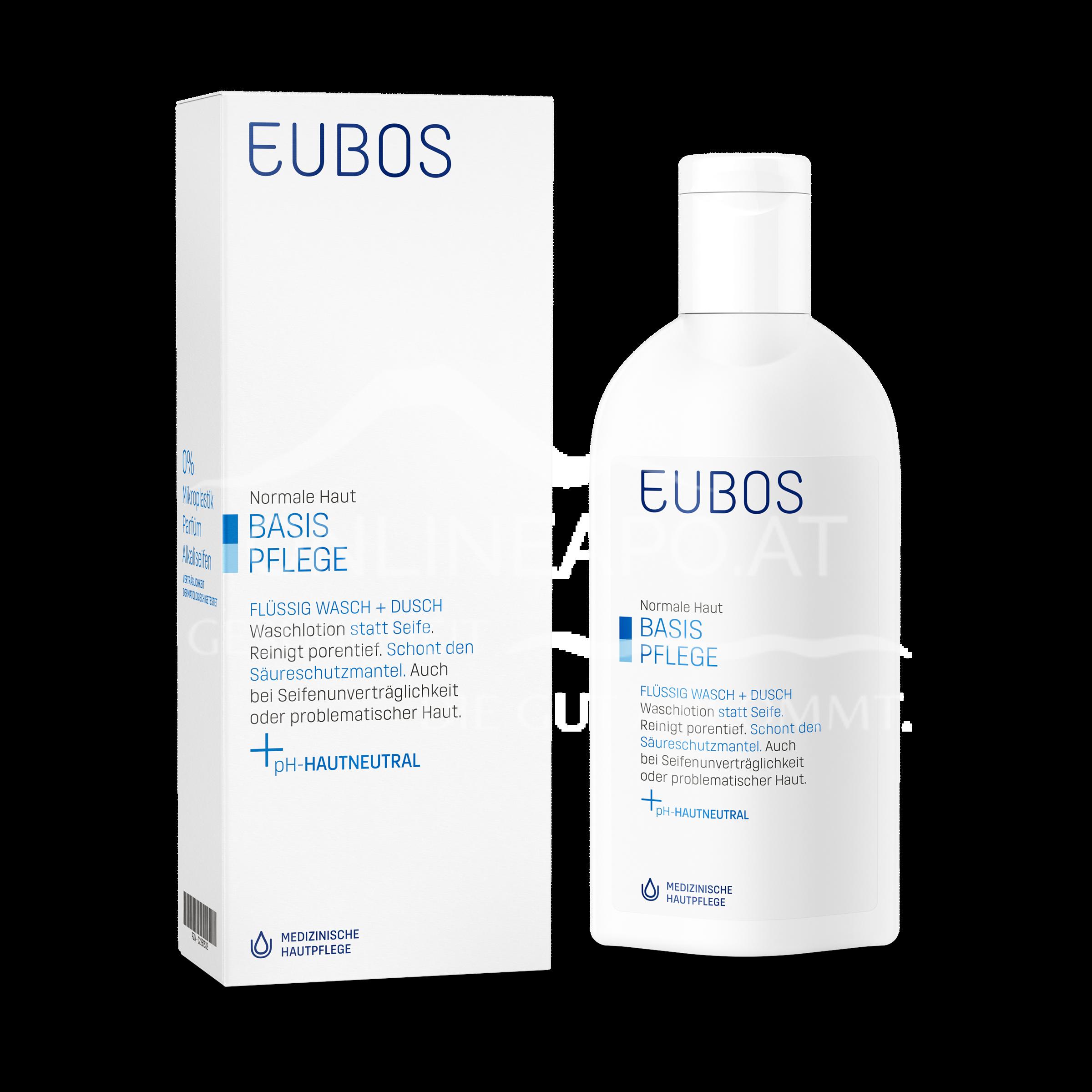 Eubos FLÜSSIG WASCH+DUSCH BLAU Parfümfrei