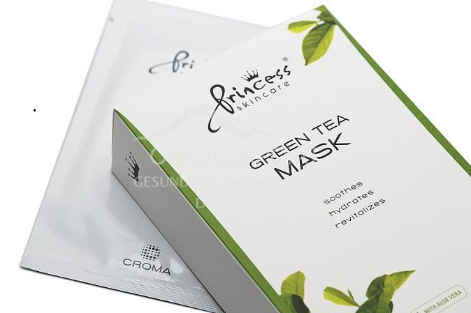 Princess® Skincare Grüntee-Maske