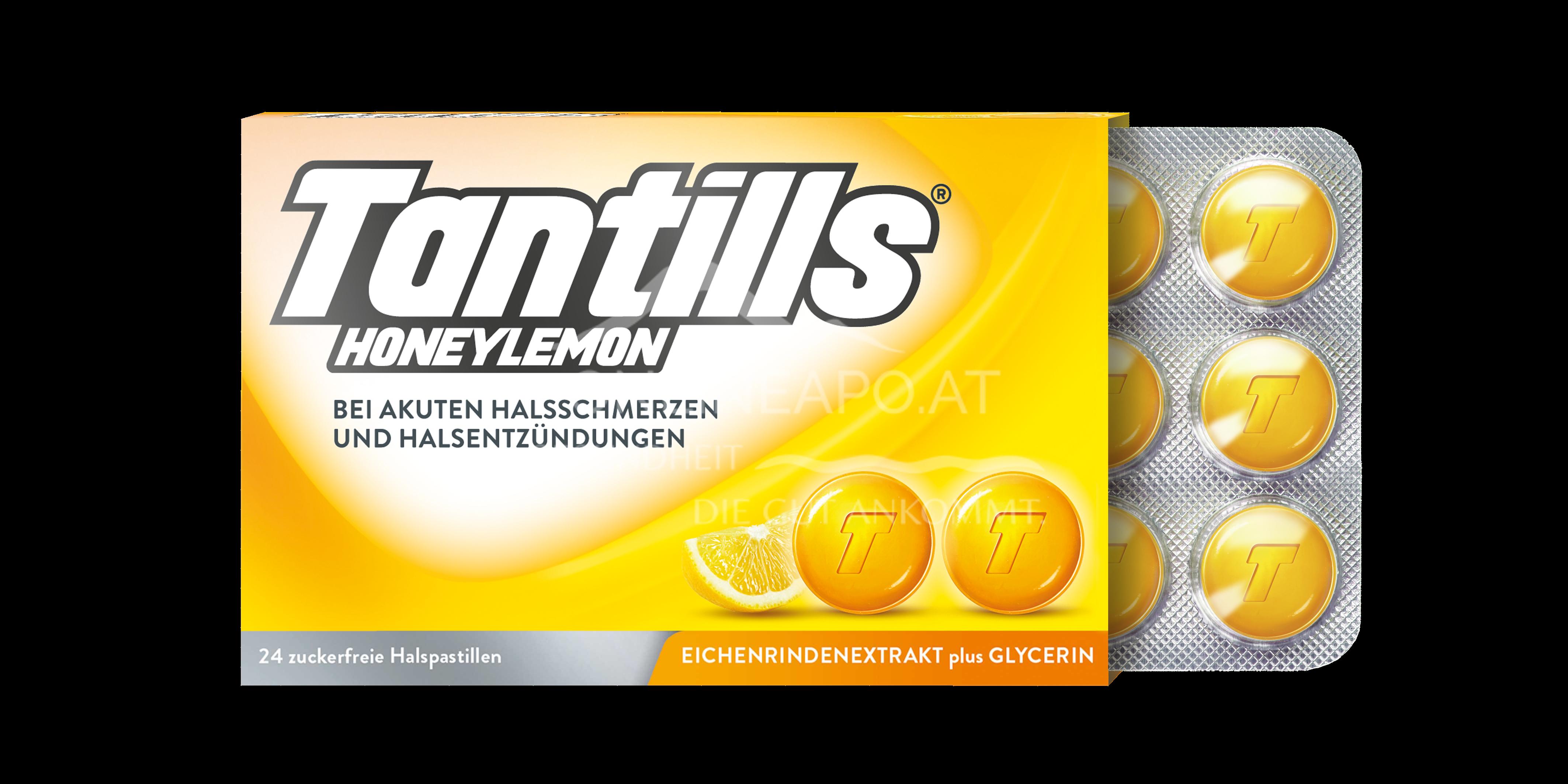 Tantills® Halspastillen Honeylemon