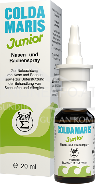 COLDAMARIS Junior Nasen/Rachenspray