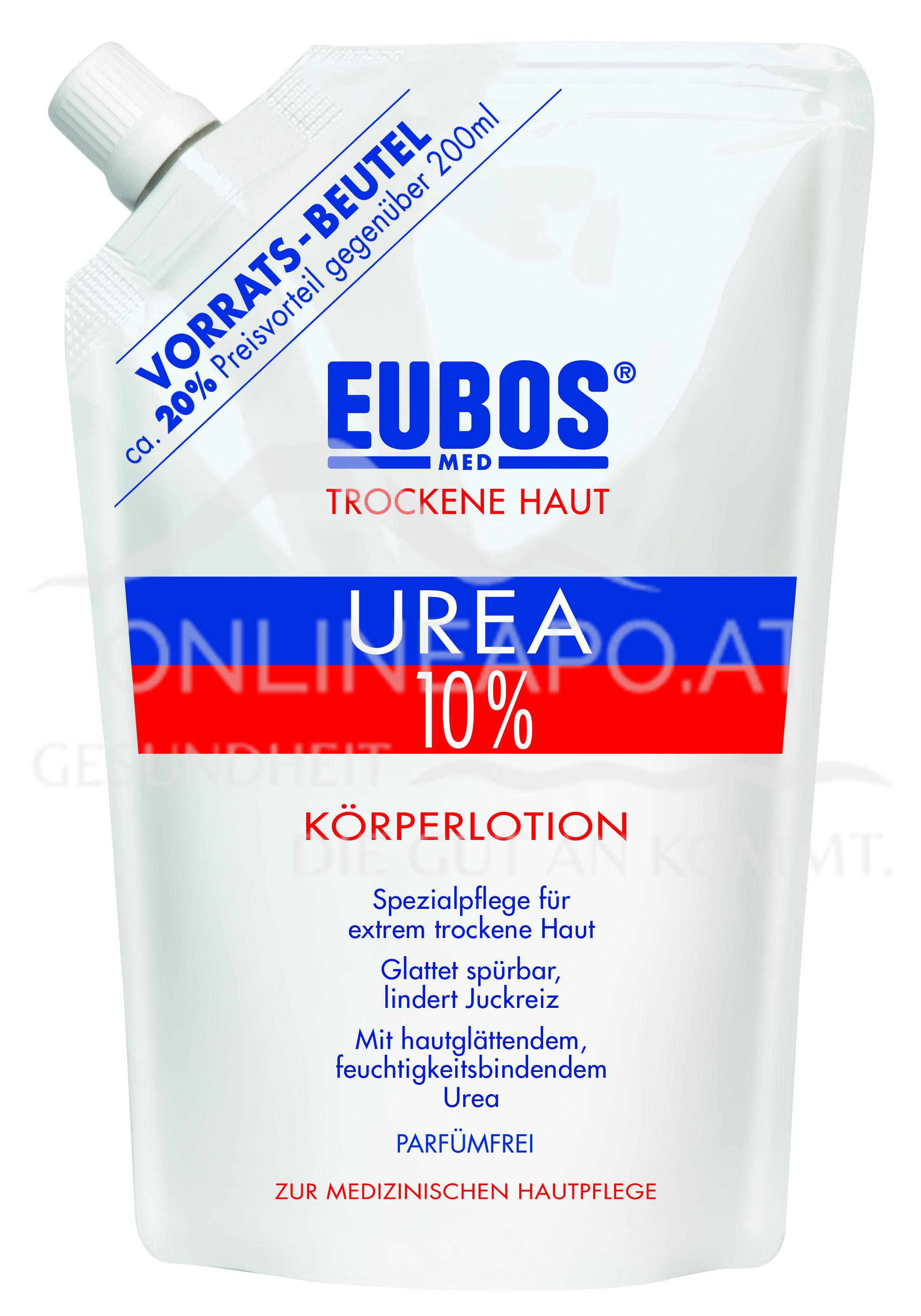 Eubos UREA 10% KÖRPERLOTION