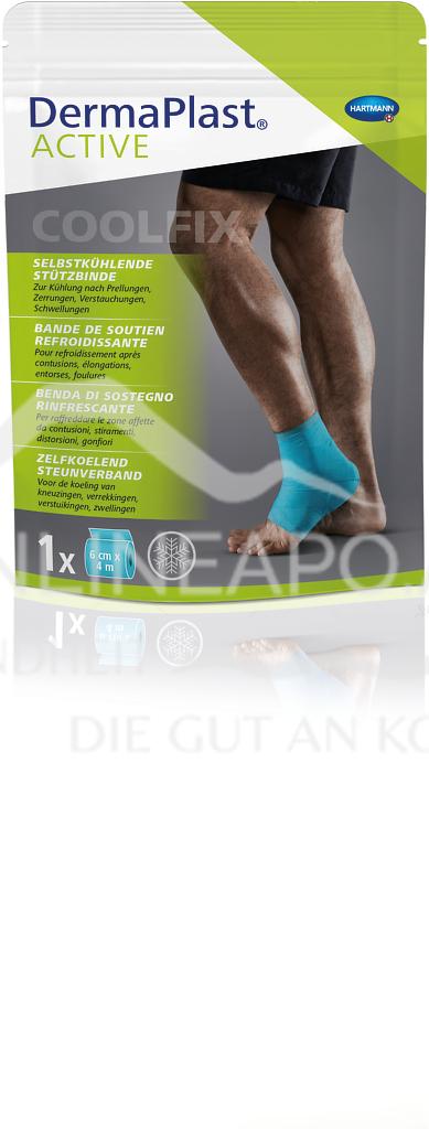 DermaPlast® ACTIVE Cool Fix, Selbstkühlende Stützbinde 6cm x 4m