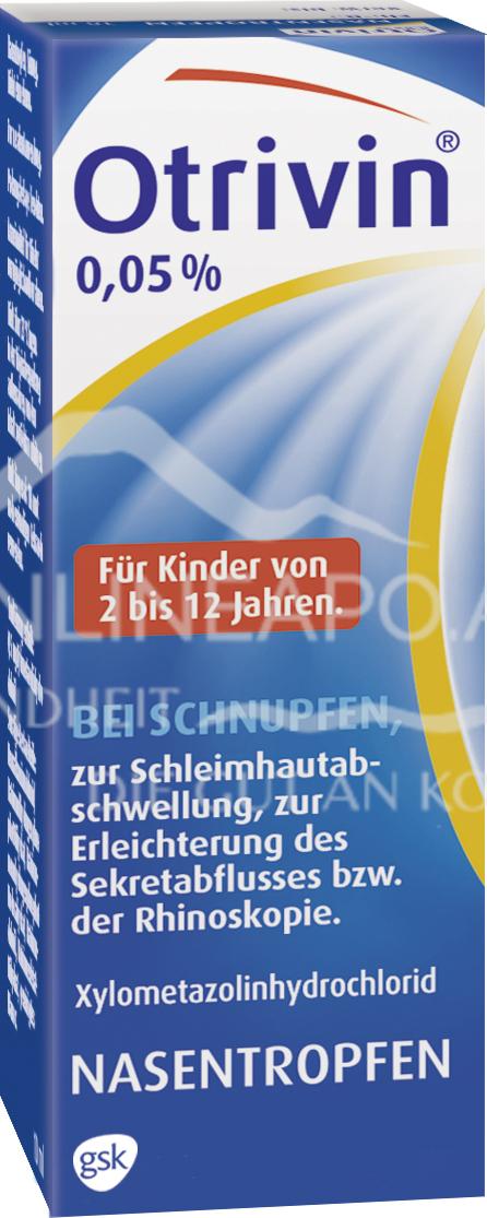 Otrivin® 0,05%-Nasentropfen