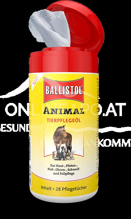 Ballistol Animal Tierpflegeöl Pflegetücher