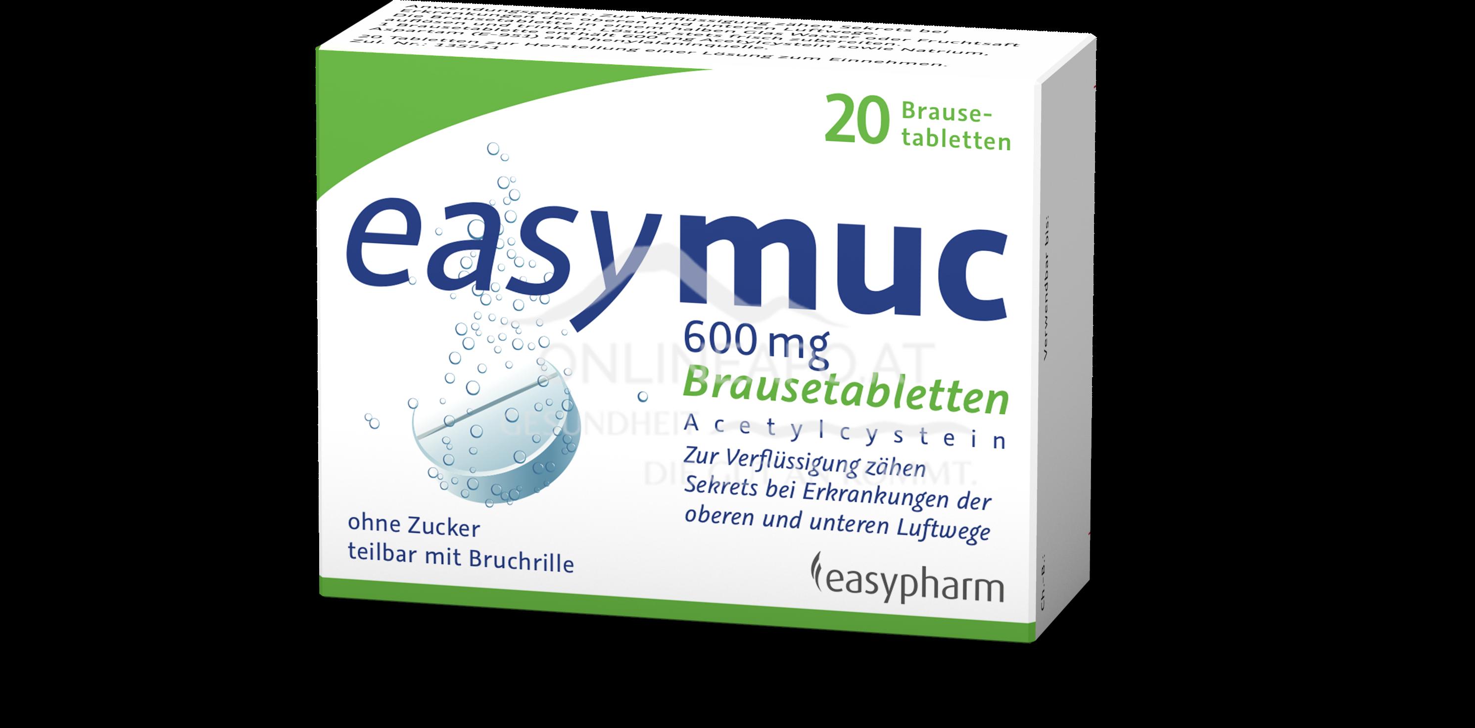 easymuc 600mg Brausetabletten