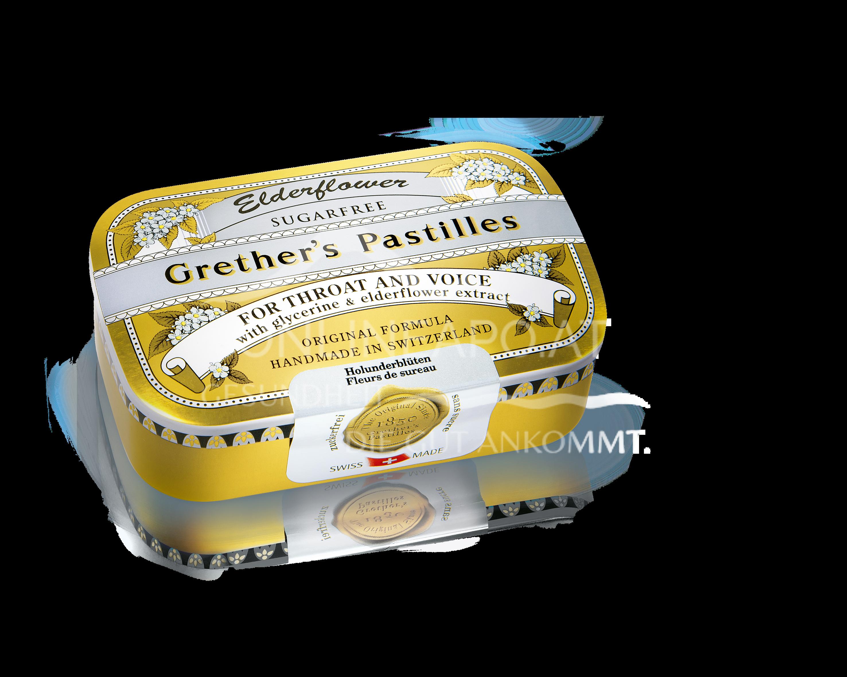 Grether's Pastilles Elderflower