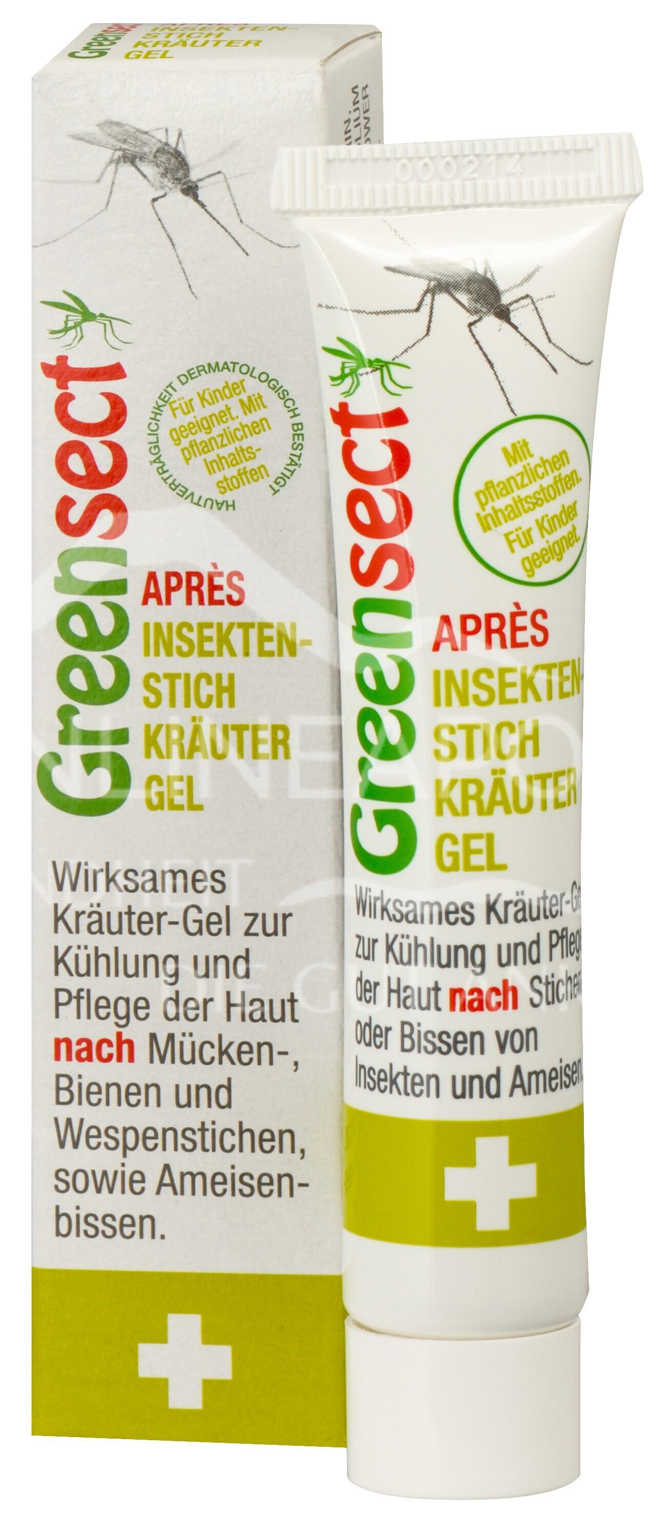 Greensect Nach-dem-Stich Kräuter-Gel