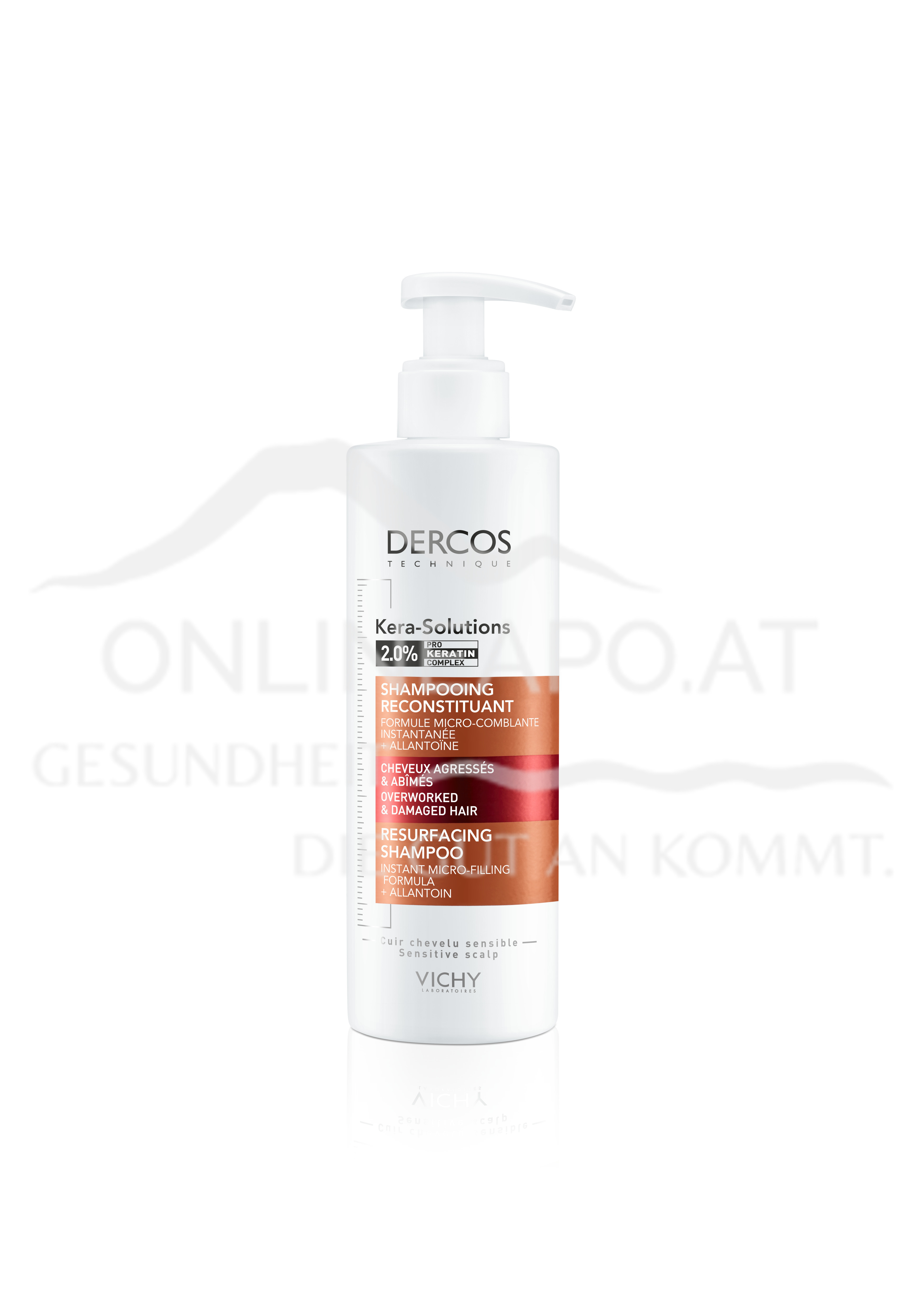 VICHY Dercos Kera Solutions Intensiv Repair Shampoo
