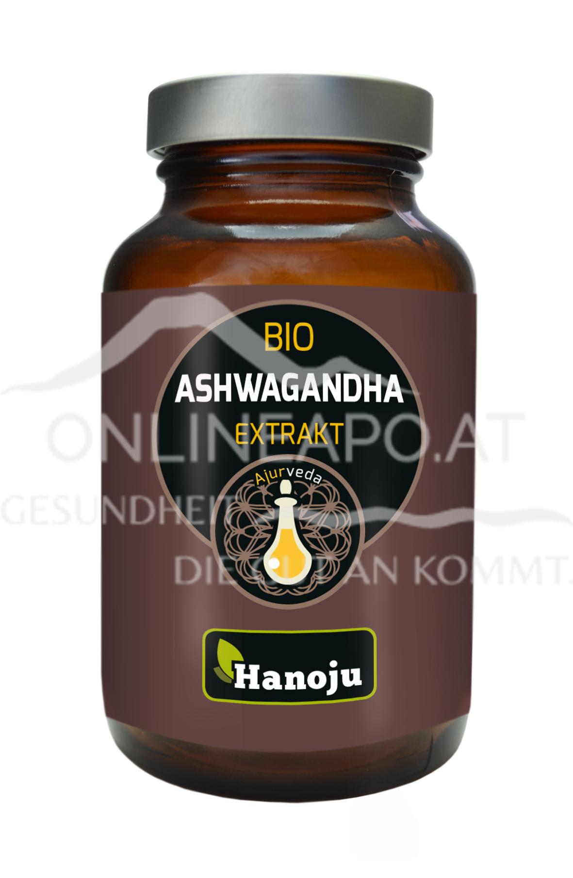 Hanoju Ashwagandha Schlafbeere Extrakt 300 mg