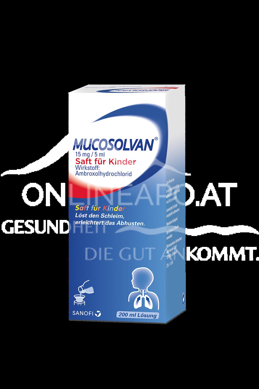 Mucosolvan® Saft für Kinder 15mg/5ml