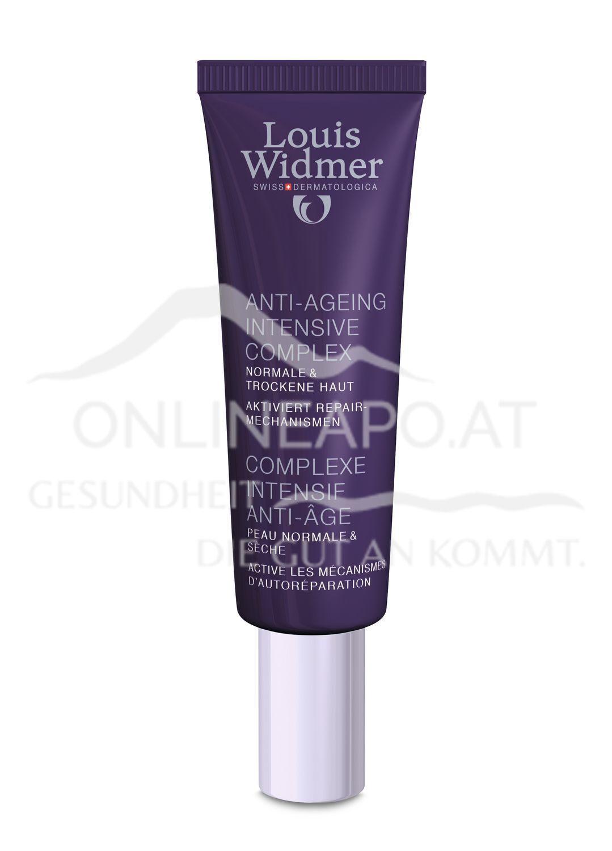 Louis Widmer Anti-Ageing Intensive Complex leicht parfümiert