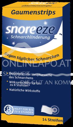 Snoreeze Gaumenplättchen