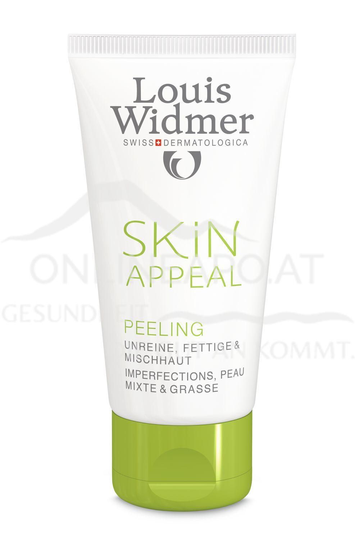 Louis Widmer Skin Appeal Peeling ohne Parfüm