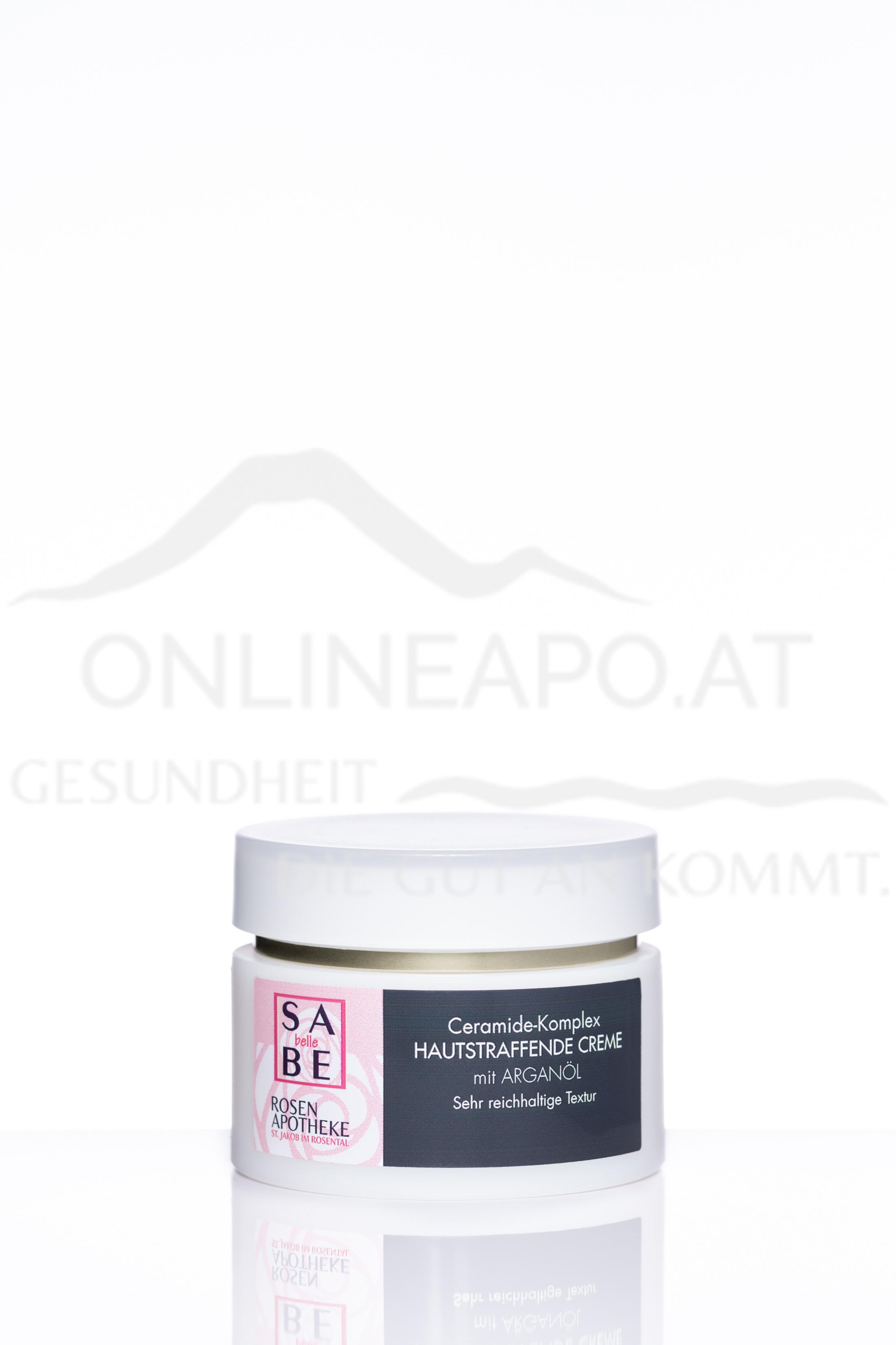 SABE belle Ceramide-Komplex Hautstraffende Creme mit Arganöl