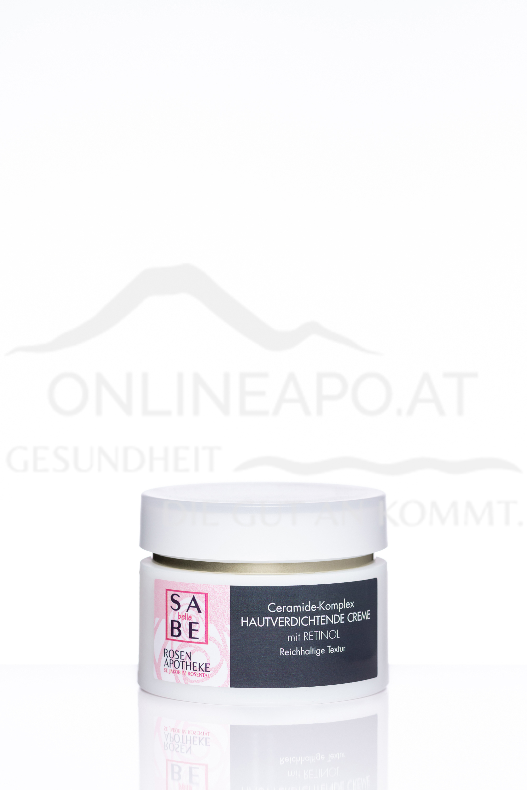 SABE belle Ceramide-Komplex Hautverdichtende Creme mit Retinol - Reichhaltige Textur