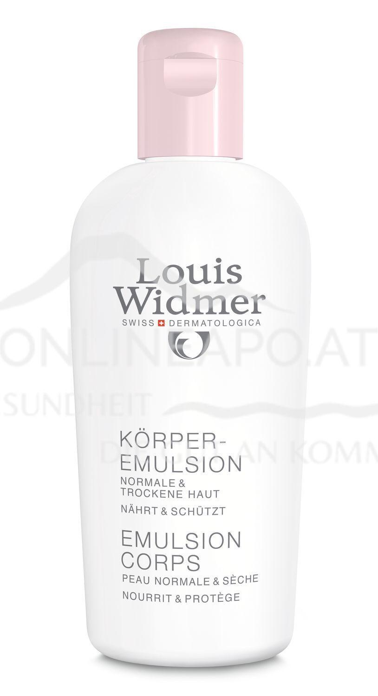 Louis Widmer Körperemulsion