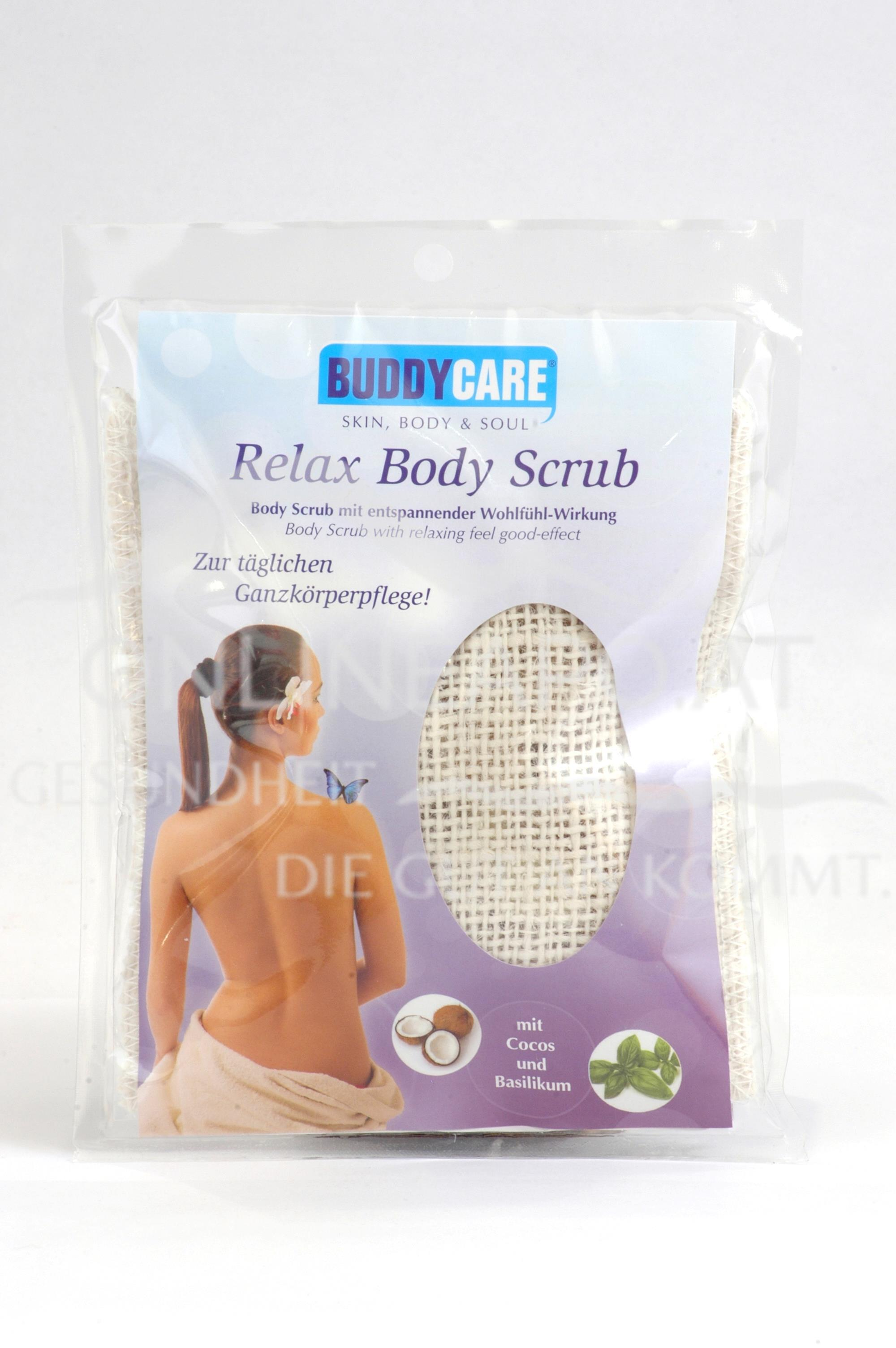 BUDDYCARE™ - Relax Body Scrub mit entspannender Wohlfühl-Wirkung