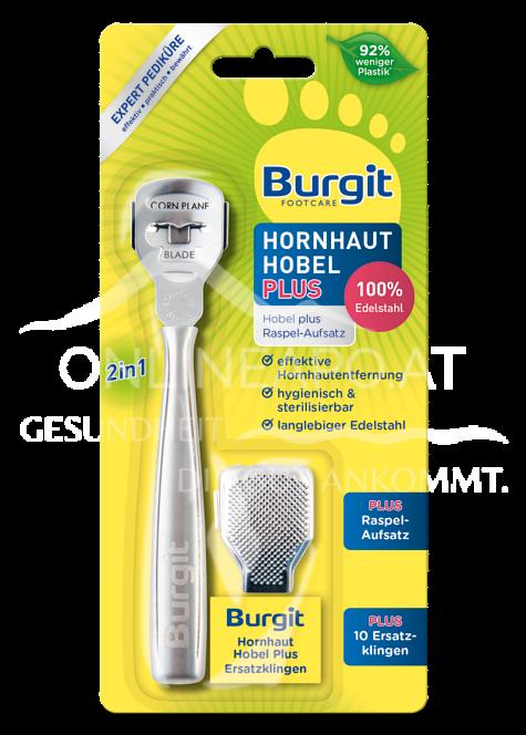Burgit Footcare Hornhaut Hobel Plus