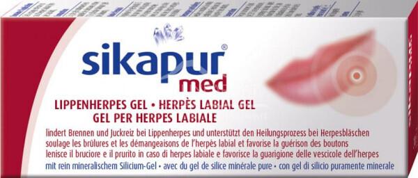 Sikapur med Lippenherpes Gel
