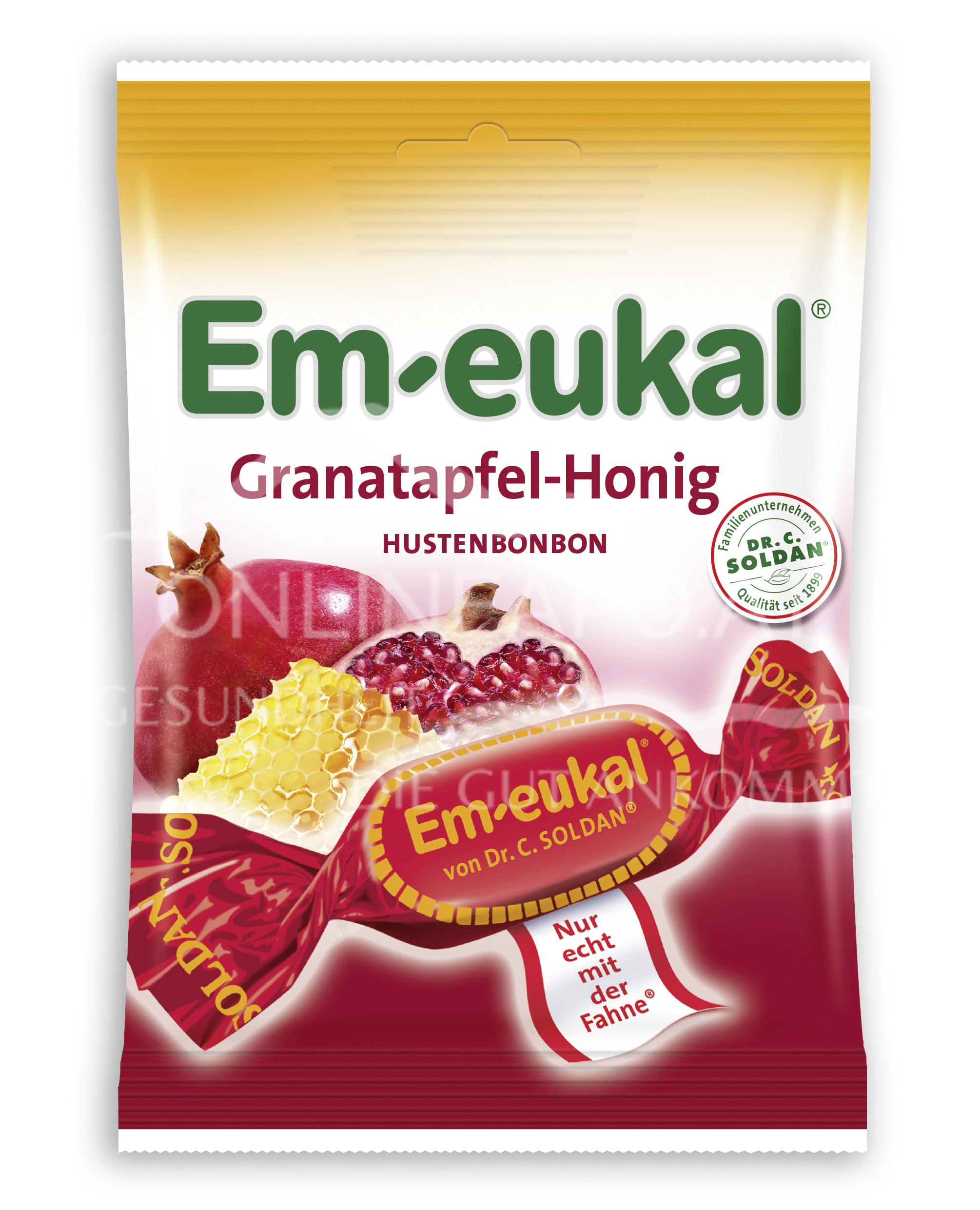 Em-eukal Granatapfel-Honig Bonbons