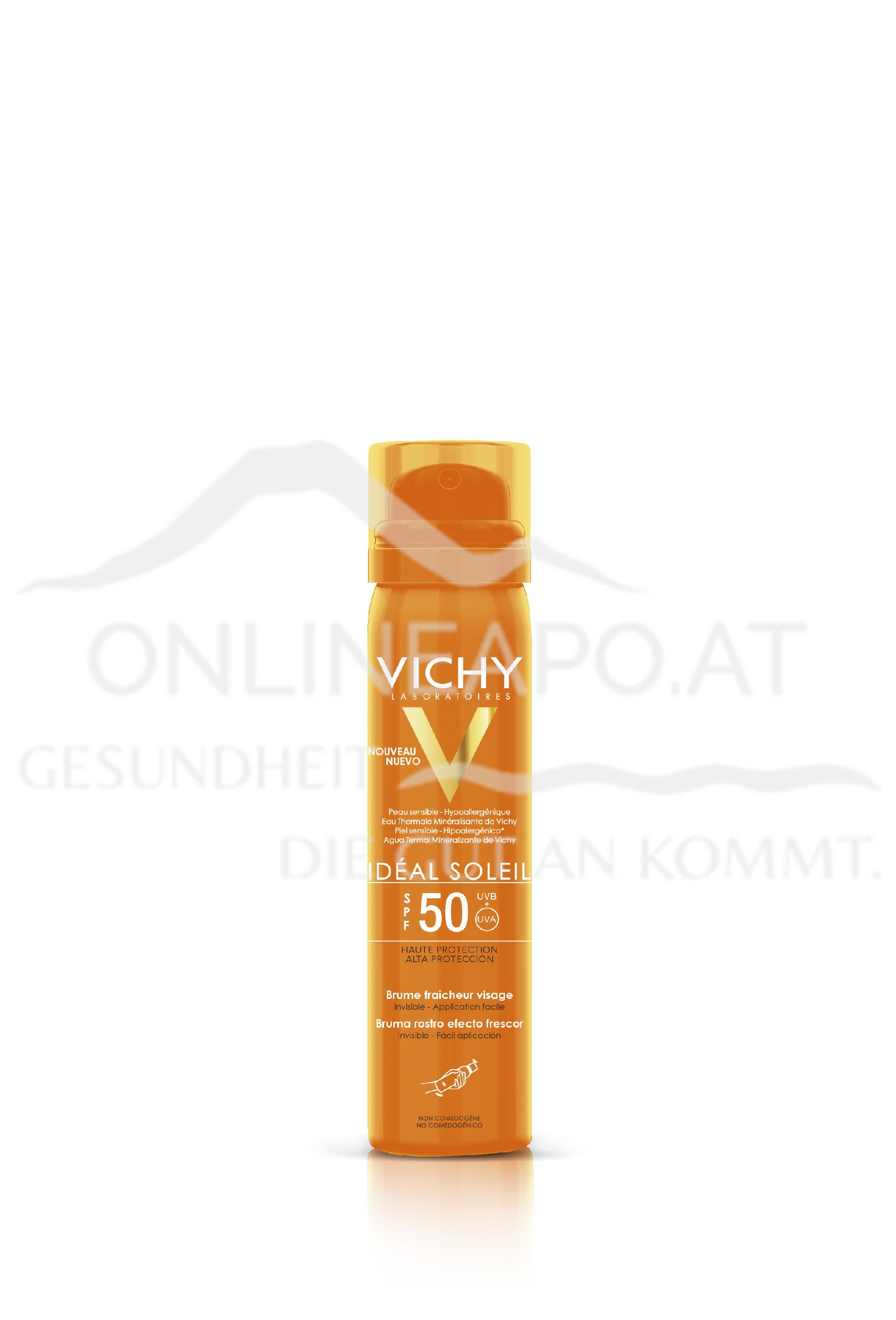VICHY Ideal Soleil Gesichtsspray LSF50