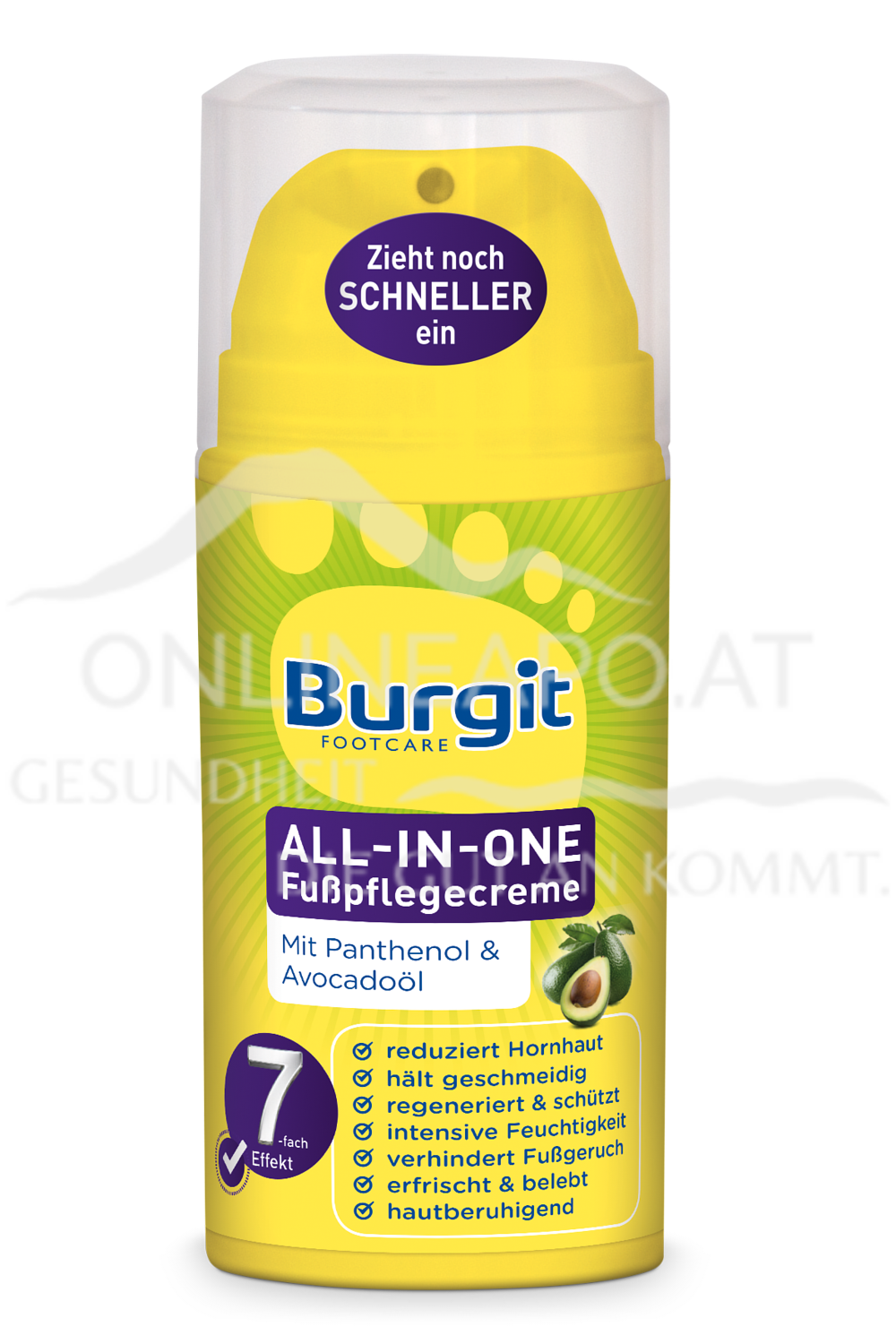 Burgit All-In-One Fußpflegecreme