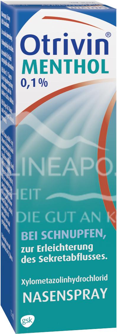 Otrivin® Menthol 0,1%-Nasenspray