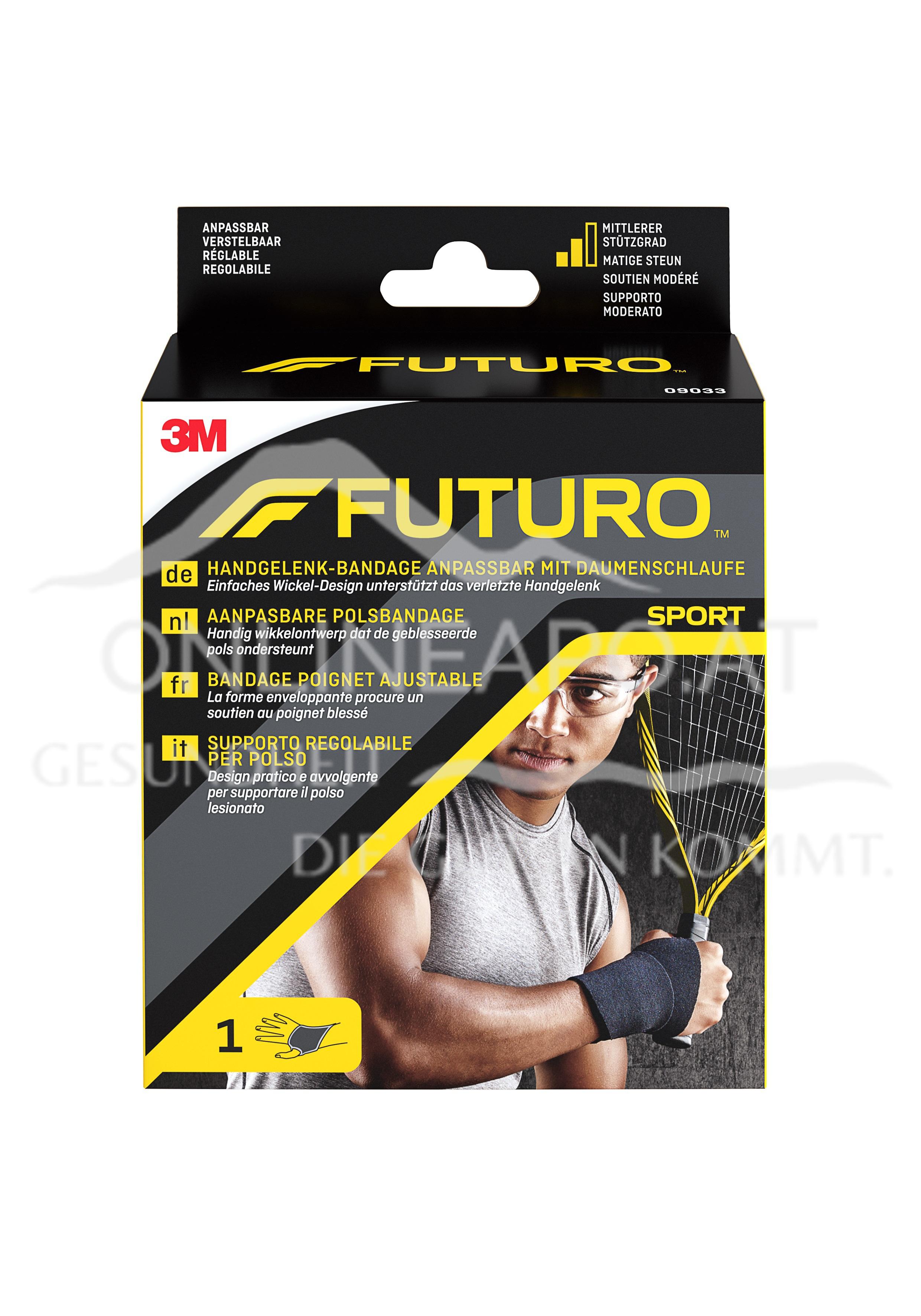 Futuro Sport Handgelenk-Bandage mit Daumenschlaufe