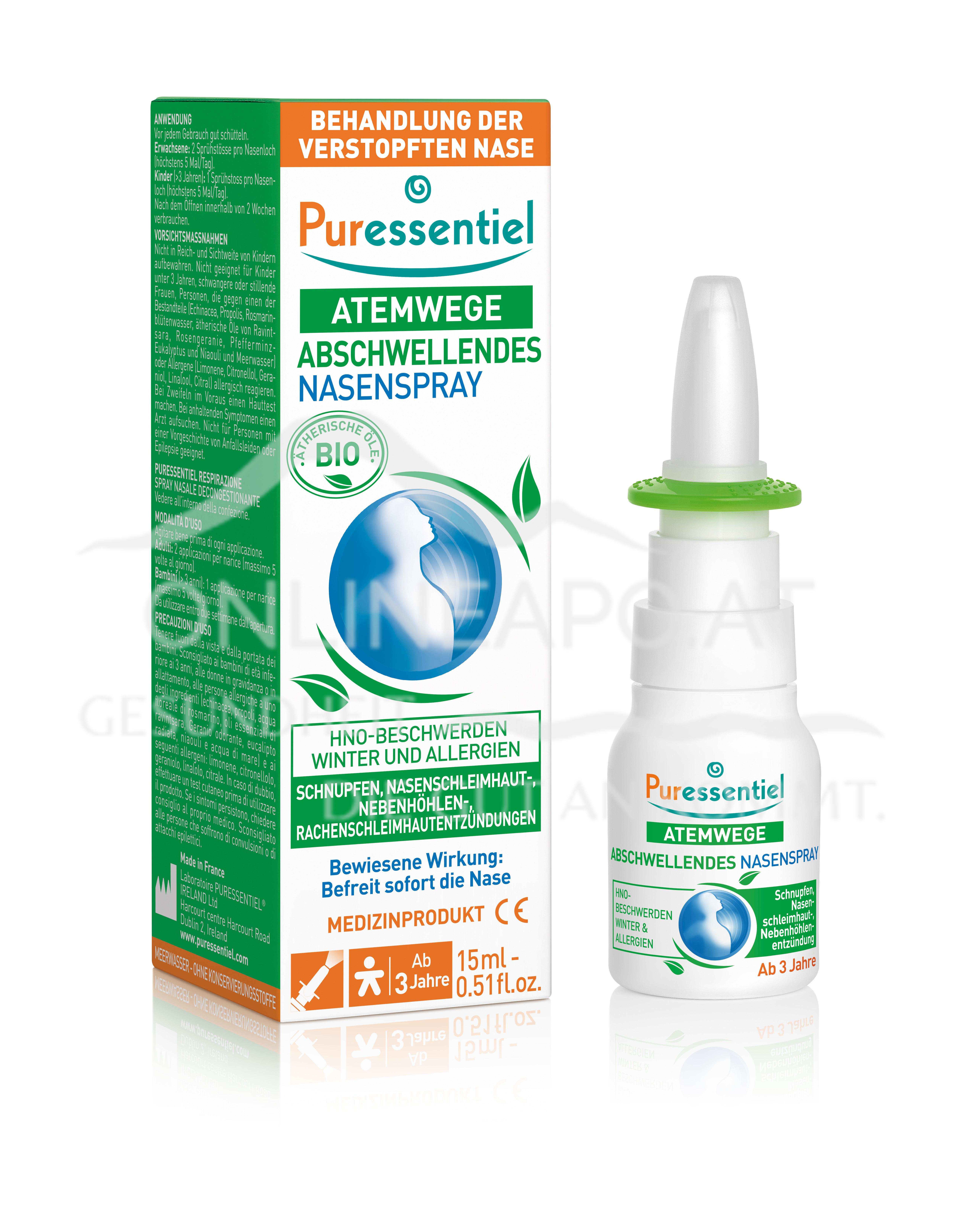 Puressentiel Atemwege Abschwellendes Nasenspray
