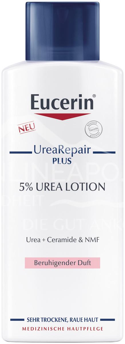 Eucerin UreaRepair PLUS Lotion 5% mit beruhigendem Duft