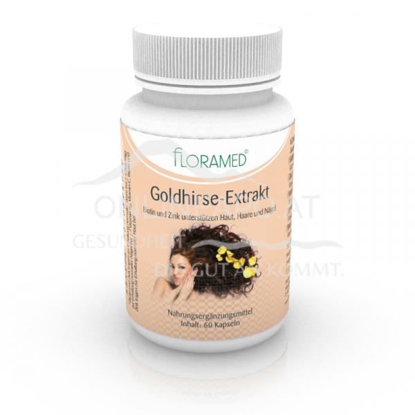 Floramed Goldhirse Extrakt - Haut,Haare, Nägel