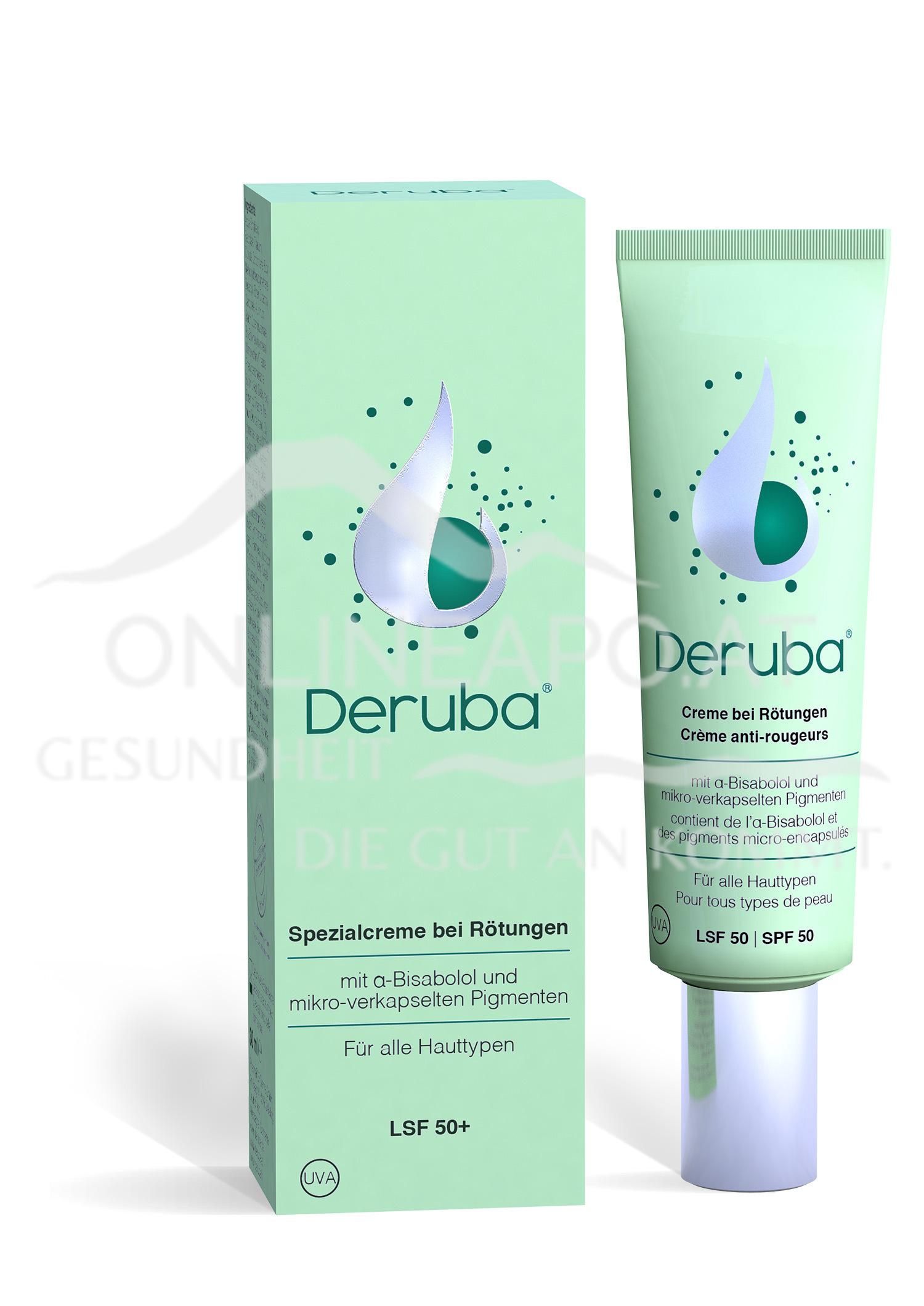 Deruba® Creme bei Rötungen LSF 50+