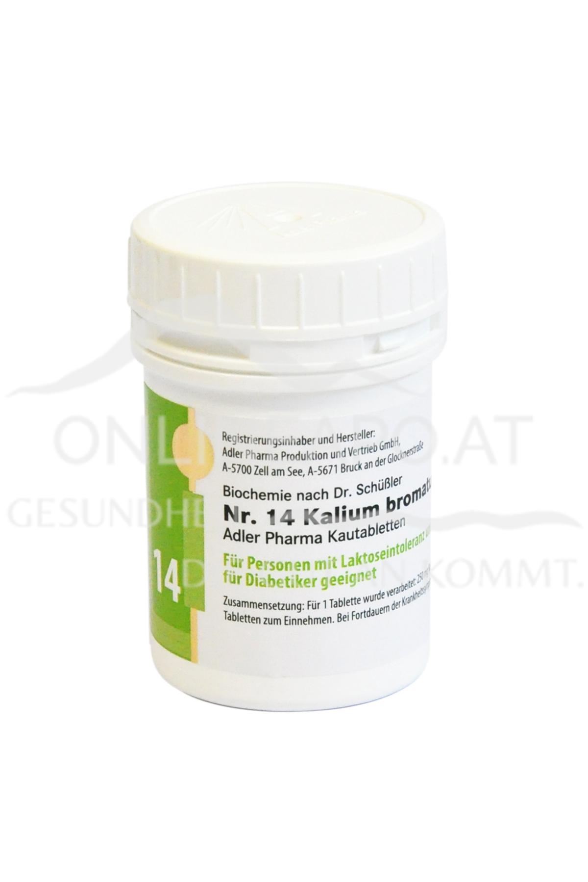 Schüßler Nr. 14 Kalium bromatum D12 LI
