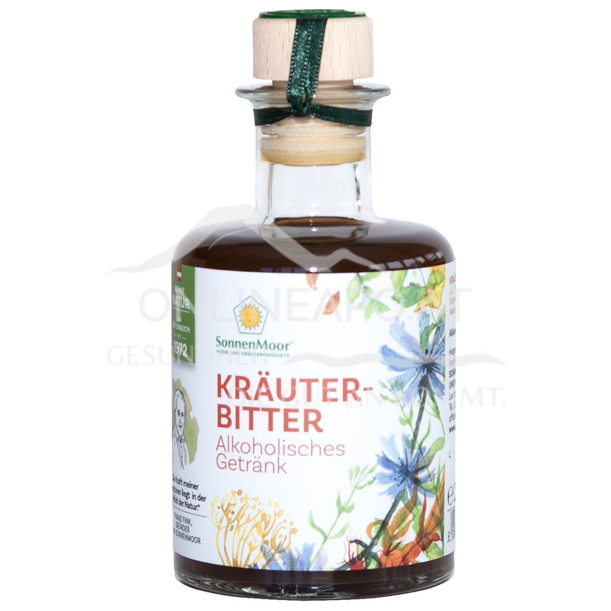 SonnenMoor Kräuterbitter mit Alkohol