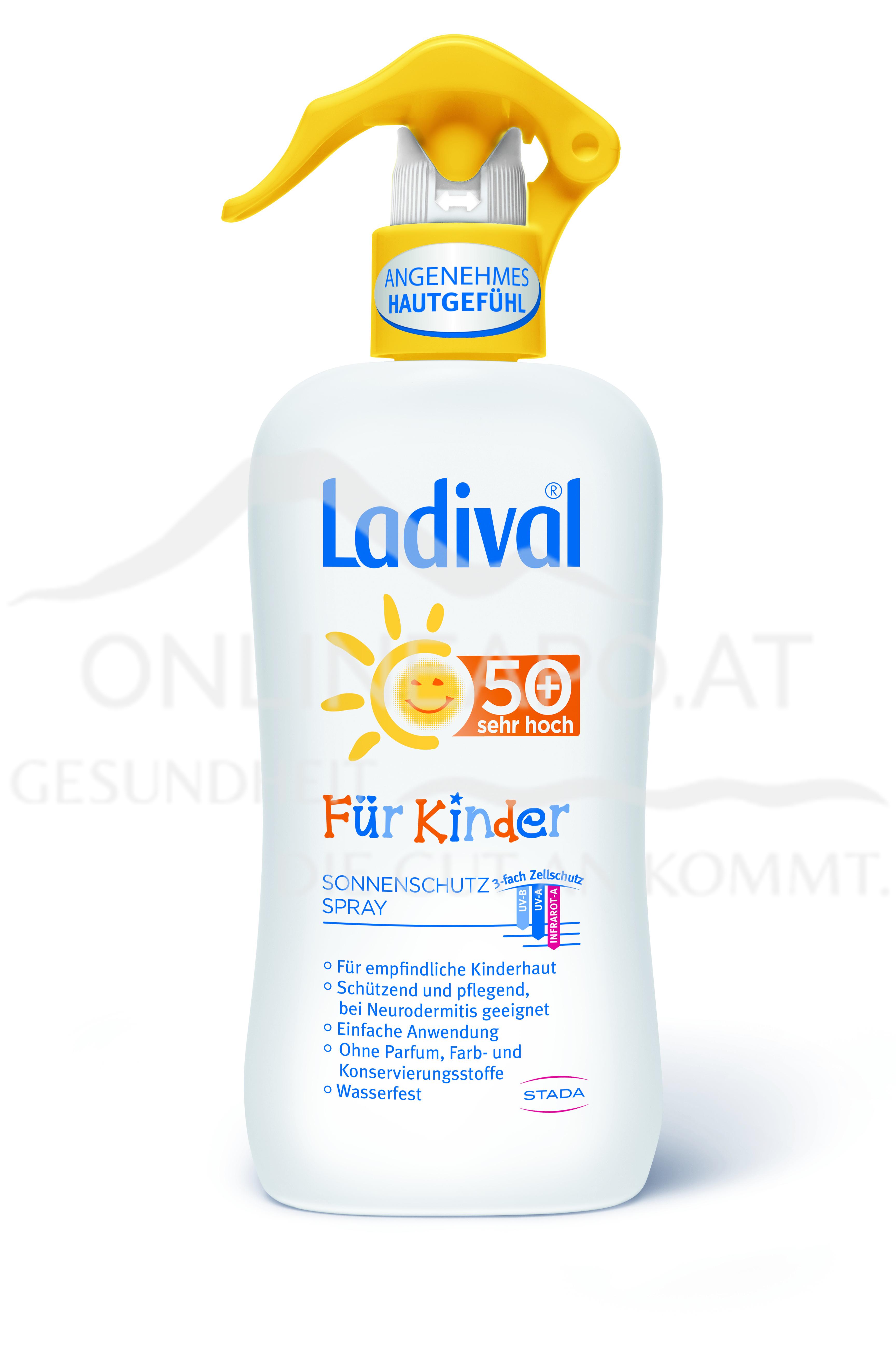 Ladival® Für Kinder Sonnenschutz Spray LSF 50+