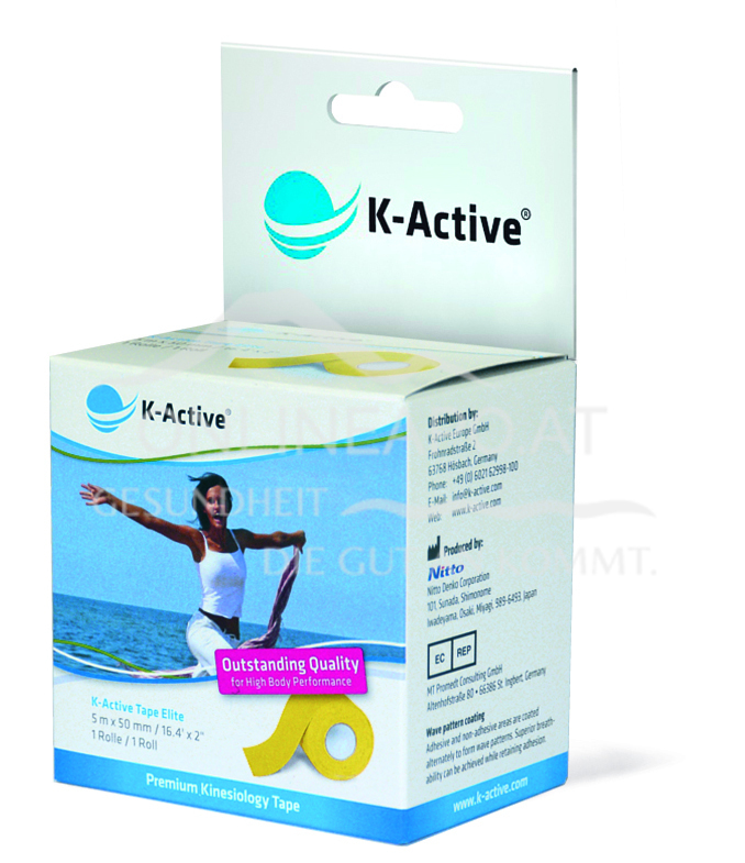 K-Active® ELITE Tape Gelb 5m X 5cm
